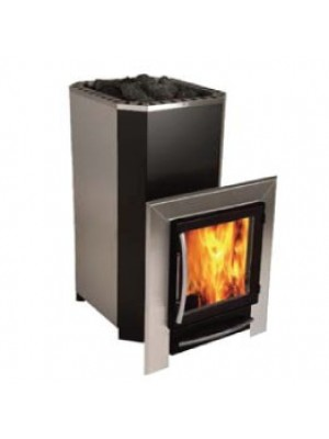 Polar Wood Burning Sauna Stove - 28 SL External Feed