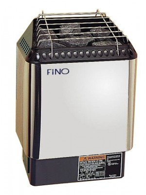 FINO HNVR 80-3 Phase Digital Sauna Heater in Stainless Steel
