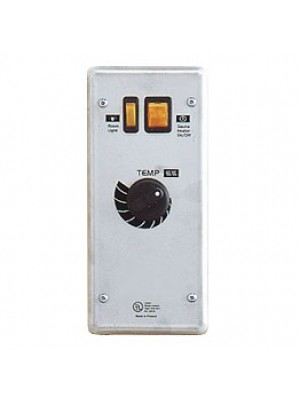 PSC-Club: Flush Mount, ON/OFF switch, thermostat, light switch, indicator light.