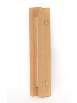 FINO Wood Sauna Door Handles Rectangular