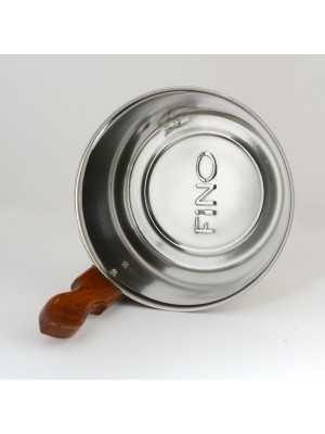 Authentic FINO Sauna Bucket in Stainless Steel