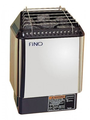 FINO Sauna HNVR 45 Digital in Stainless Steel