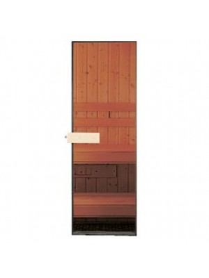 "24"" x 78"" Tempered Glass Sauna Door"