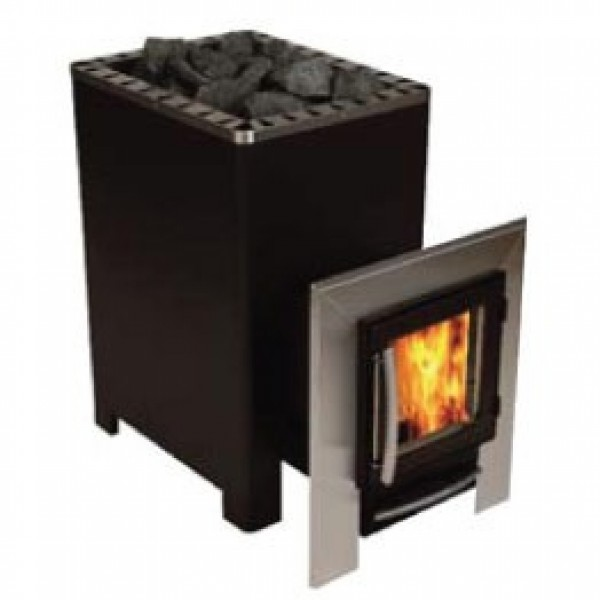 Polar Wood Burning Sauna Stove - 20 SL External Feed