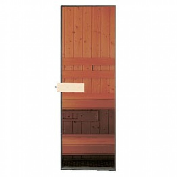 "24""x80"" All Glass CLEAR Sauna Door Suggested Rough Opening 27 1/2""x82 1/4"""