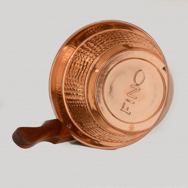 FINO Luxury Finnish Sauna Bucket in Copper